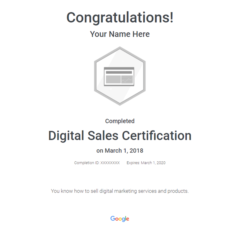 digital-sales-certificate
