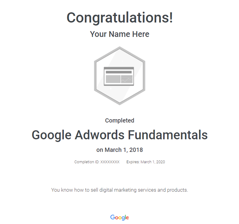 google-adwords-certificate