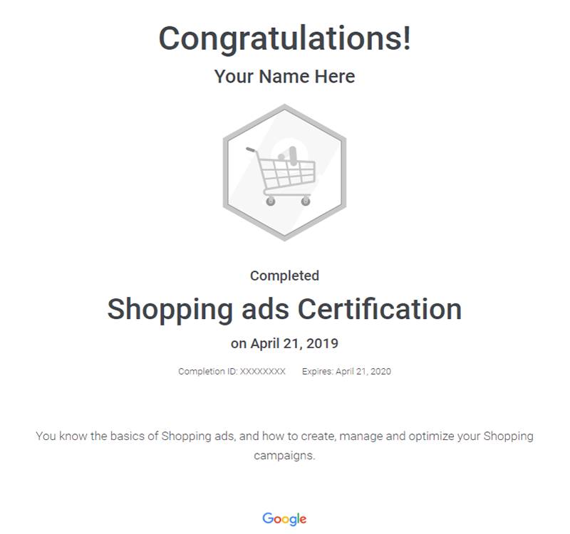 shopping-certificate